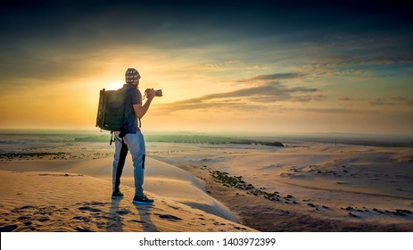 Adventure Photographer in Desert Dammam Saudi Arabia
