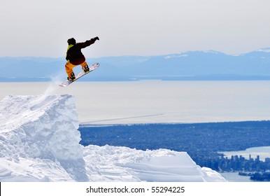 Adventurer's Jumping, Mountain Seymour Ski Resort