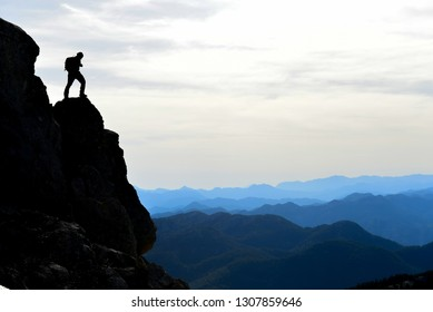 The adventures of a powerful and courageous mountaineer
