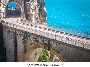 Adventurous road, Amalfi Coast, Italy