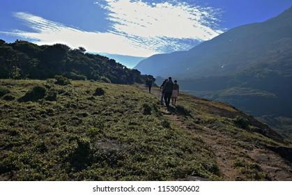 """""""Adventurous trekking routes of Agasthyamala - On the foot hills of Agasthyamala in the morning"""""""