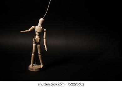 advertisement / art / puppet