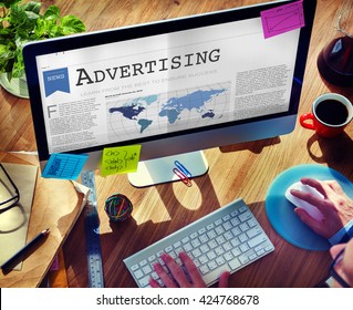 Advertising Branding Commerce Promotion Concept