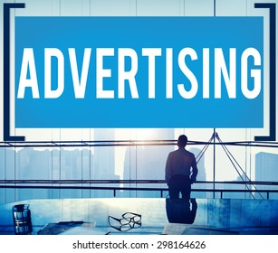 Advertising Commercial Marketing Business Plan Concept