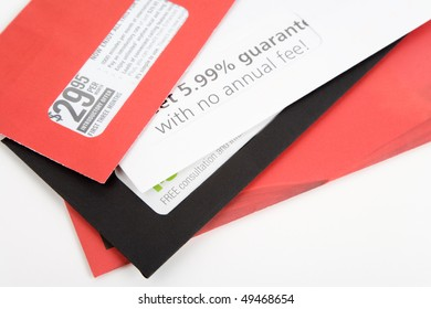 advertising mail for background, Business concept