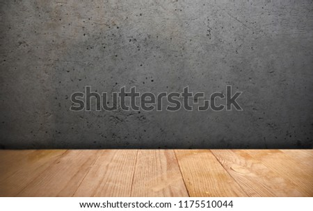 Advertising Space Wooden Boards Background Stock Photo Edit Now