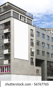 An advertising wall in Berlin Germany