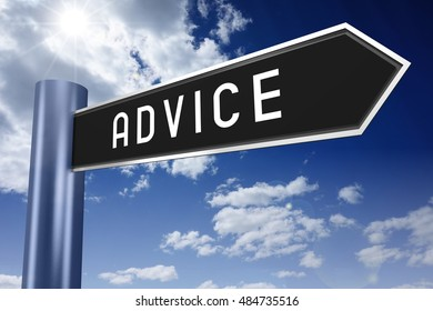 Advice signpost