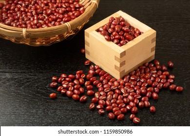an adzuki bean