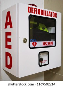 AED automated external defibrillator equipment