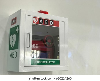 aed defibrillator in the airport