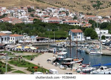 Aegean island Bozcaada in Turkey