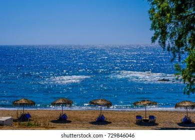 Aegean sea panorama