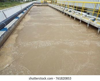 Aeration in activited sludge proceess