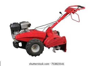 Aerator for soil treatment.