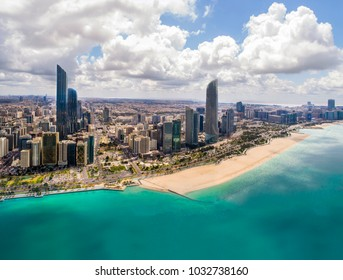 Aeria View of Abu Dhabi city