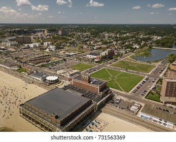 Aerial of Asbury Park New Jersey