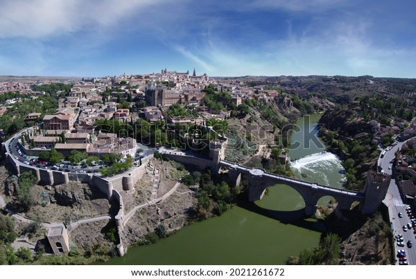 Aerial Beautiful view                                                                                    of landscape.Drone Photo