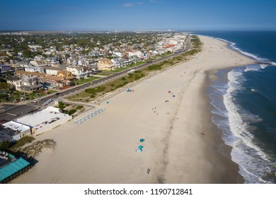 Aerial of Cape May New Jersey