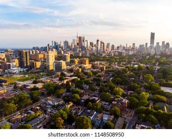 Aerial East Toronto, Canada