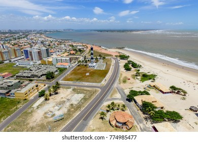 Aerial image of Aracaju, Sergipe, Brazil