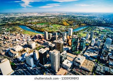 Aerial image of Edmonton, Alberta, Canada