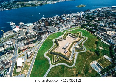Aerial image of Halifax, Nova Scotia, Canada