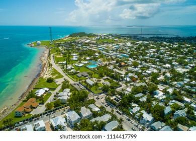Aerial image Key West Florida