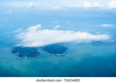 Aerial The island