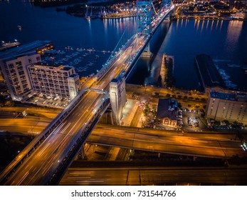 Aerial of Philly Highway