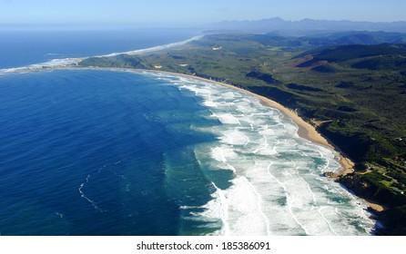 Aerial photo of Brenton on Sea