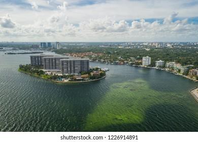 Aerial photo Coconut Grove Miami FL