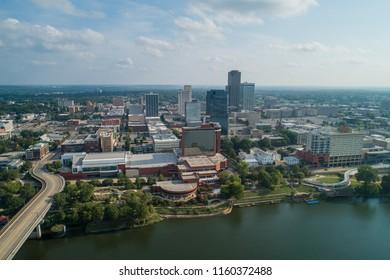 Aerial photo Downtown Little Rock AK USA