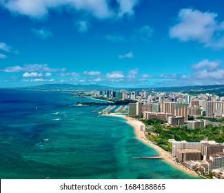 Aerial Photo of Honolulu Hawaii