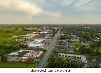 Aerial photo Lumberton NC USA no logos