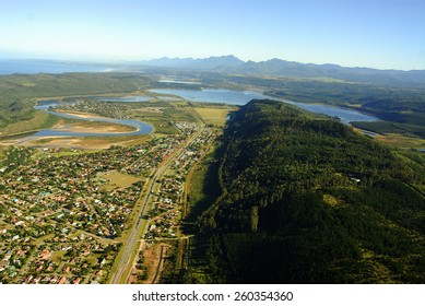 Aerial photo of Sedgefield, Garden Route, South Africa