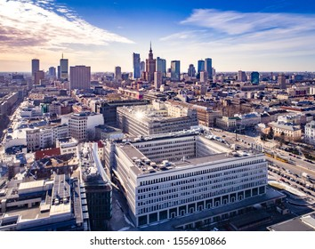 Aerial photo of Warsaw, Poland - Image