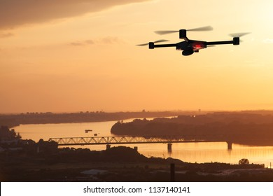 aerial photographing with drone