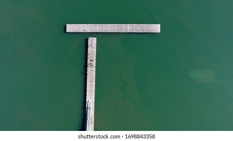 Aerial photography was performed using a quadrocopter on the Sea of Galilee in the summer of 2019 near the city of Tiberias