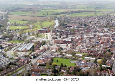 Aerial Photography of Stratford upon Avon