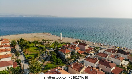 Aerial photos of the Aegean sea - Altinoluk, Balikesir, Turkey