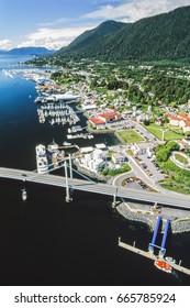 Aerial photos, aerial images of Alaska