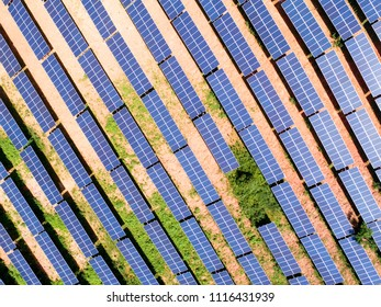 Aerial Photovoltaic Power Station