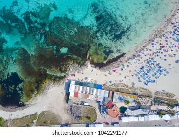 Aerial - Punta Prima, Menorca