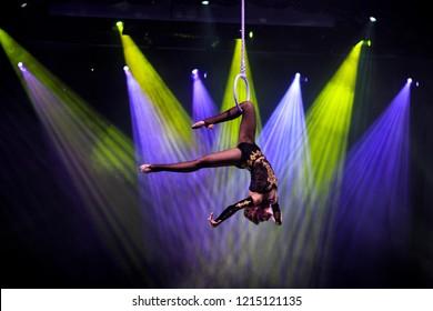 Aerial ring circus