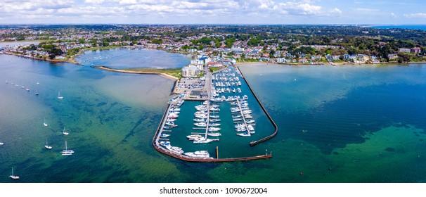 Aerial - Salterns Marina, Poole