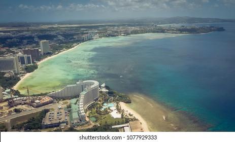 Aerial shoots taken in Guam