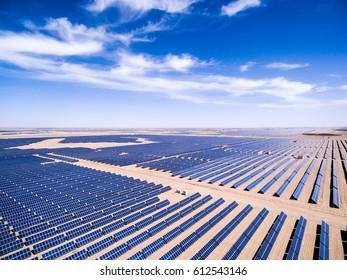 Aerial solar power