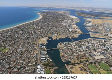 aerial south australia outer harbor