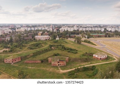 aerial survey of the fortifications of the Bobruisk fortress
